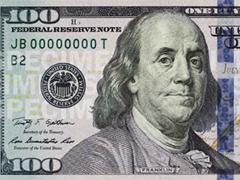 Доллары поголубели