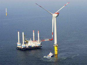 В Балтийском море запустили гигантскую ветряную электростанцию